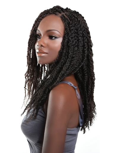 DIY Natural Hair Care: How to | Natural Looking Marley Braids