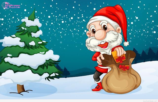 merry christmas day funny santa hd image