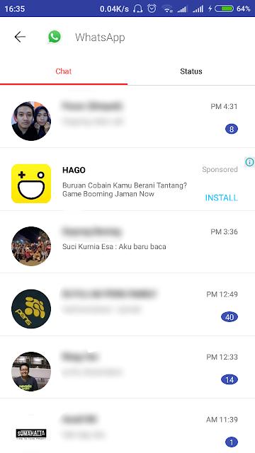 Cara Melihat Seluruh Pesan WhatsApp Yang Sudah Dihapus alias Delete For Everyone Oleh Orang Lain Paling Mudah Tanpa Root Terbaru