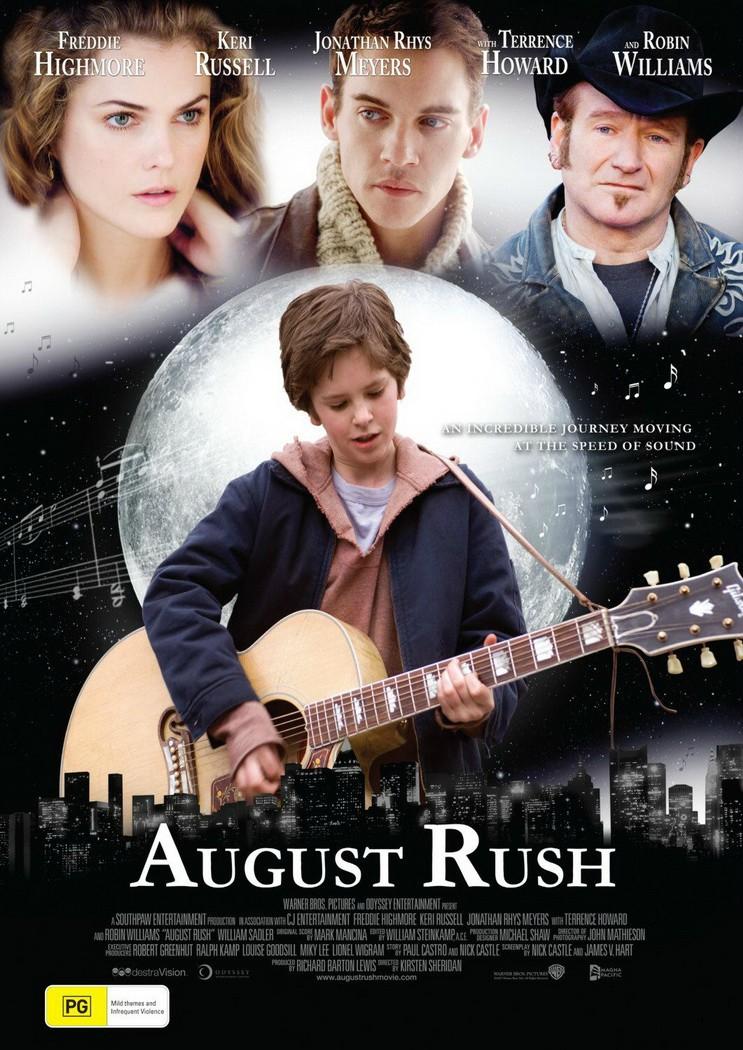 August Rush (2007) ภาพยนต์เกี่ยวกับดนตรี