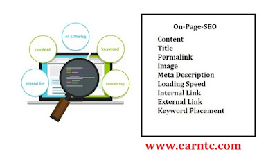 Top On Page SEO Techniques - EarnTC
