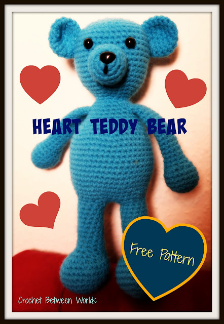 FREE PATTERN: Heart Teddy Bear