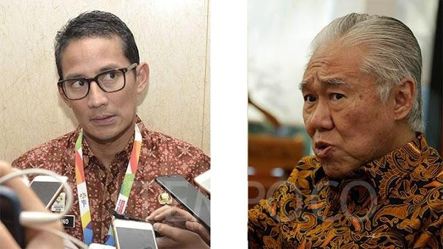 """Ogah Tanggapi """"Politikus Sontoloyo"""", Sandiaga: 2019 Ojo Loyo"""