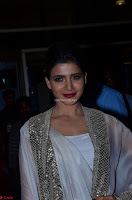 Samantha Ruth Prabhu cute in Lace Border Anarkali Dress with Koti at 64th Jio Filmfare Awards South ~  Exclusive 036.JPG