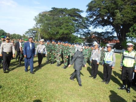 Apel gelar pasukan dalam rangka Operasi Lilin Lodaya Tahun 2016