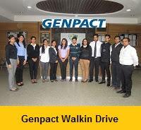 Genpact Mega Walkin Drive In Noida
