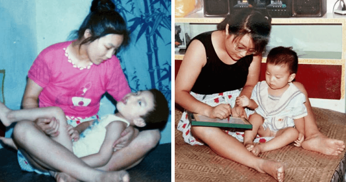 Mother Refused To Give Up Her Disabled Son... 29 Years Later, He's A Harvard Law Student!
