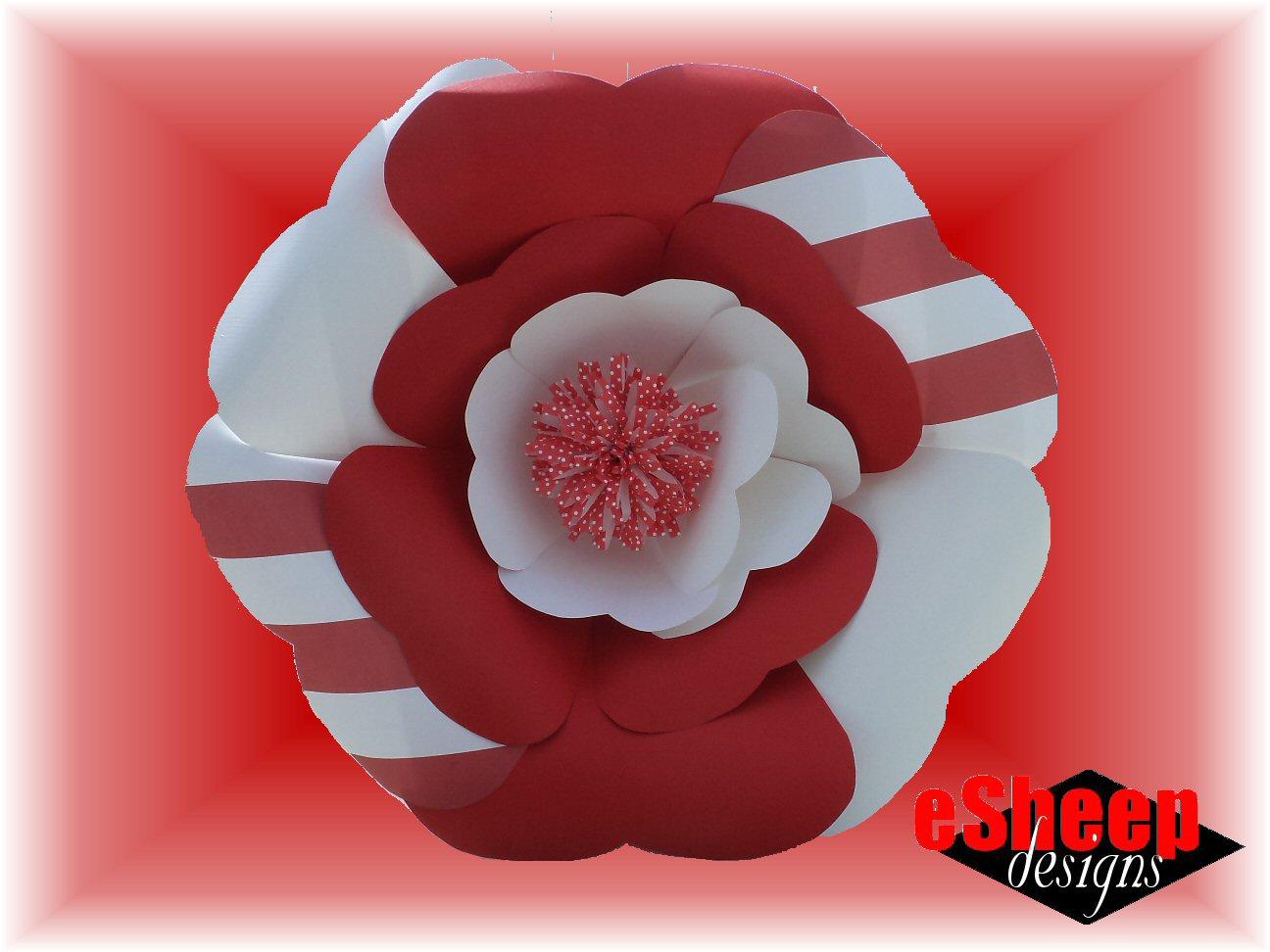 Esheep Designs Free Pdf Tutorial Designer Paper Flowers