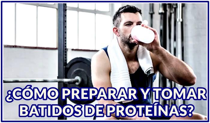 Aprende cómo preparar y cuándo tomar tus batidos de proteínas