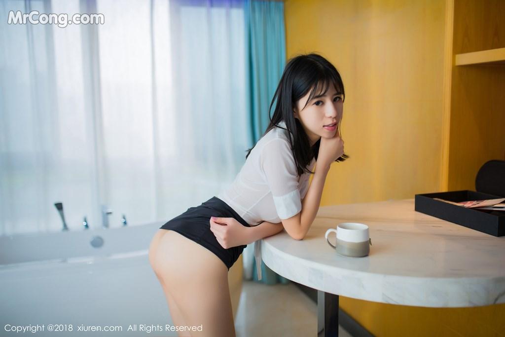 Image XIUREN-No.1014-MrCong.com-002 in post XIUREN No.1014: Người mẫu 艾栗栗栗栗栗栗吖 (47 ảnh)