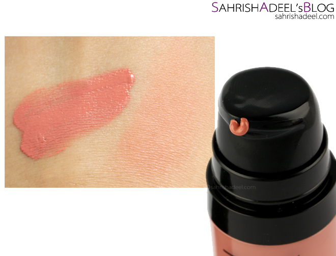 Vivid Blush Lacquer by Makeup Revolution - Review & Swatches