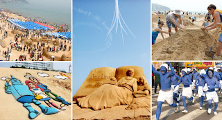 Haeundae Sand Festival - Korea