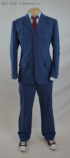 10th Doctor blue suit tutorial