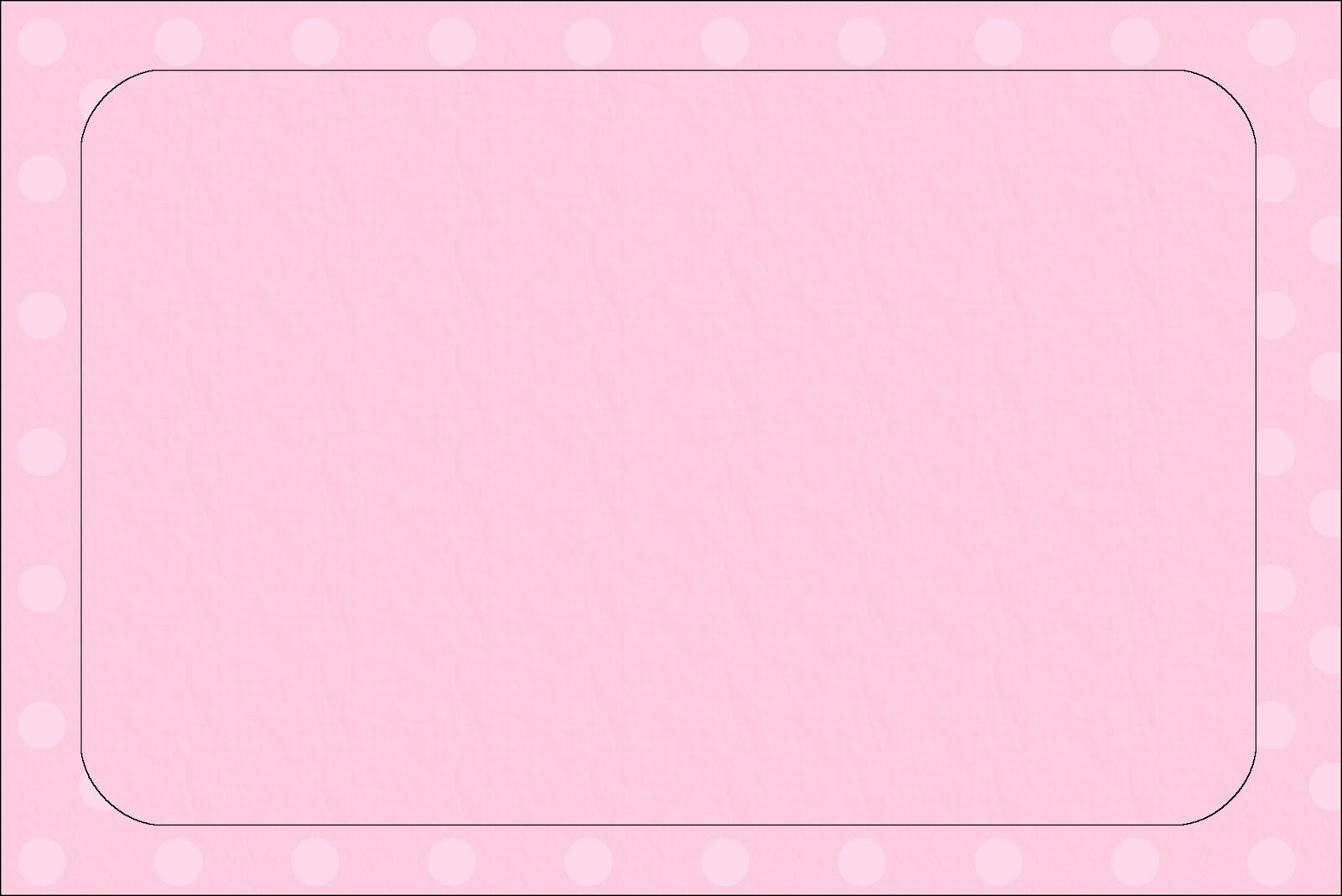 Rosado con Lunares: Invitaciones para Primera Comunión de Niña para ...