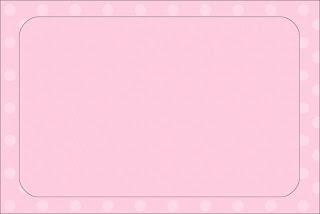 3020534b426 Rosado con Lunares  Invitaciones para Primera Comunión de Niña para  Imprimir Gratis.