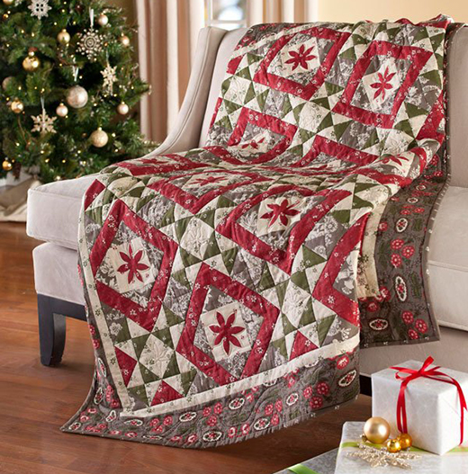 Deck the Halls Quilt Free Pattern