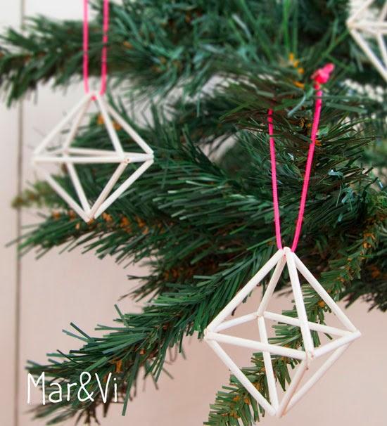 Cómo hacer adornos de navidad nórdicos