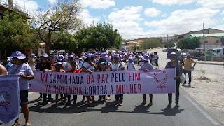 CEOP realiza com sucesso a 6º Caminhada da Paz Pelo Fim da Violência Contra a Mulher