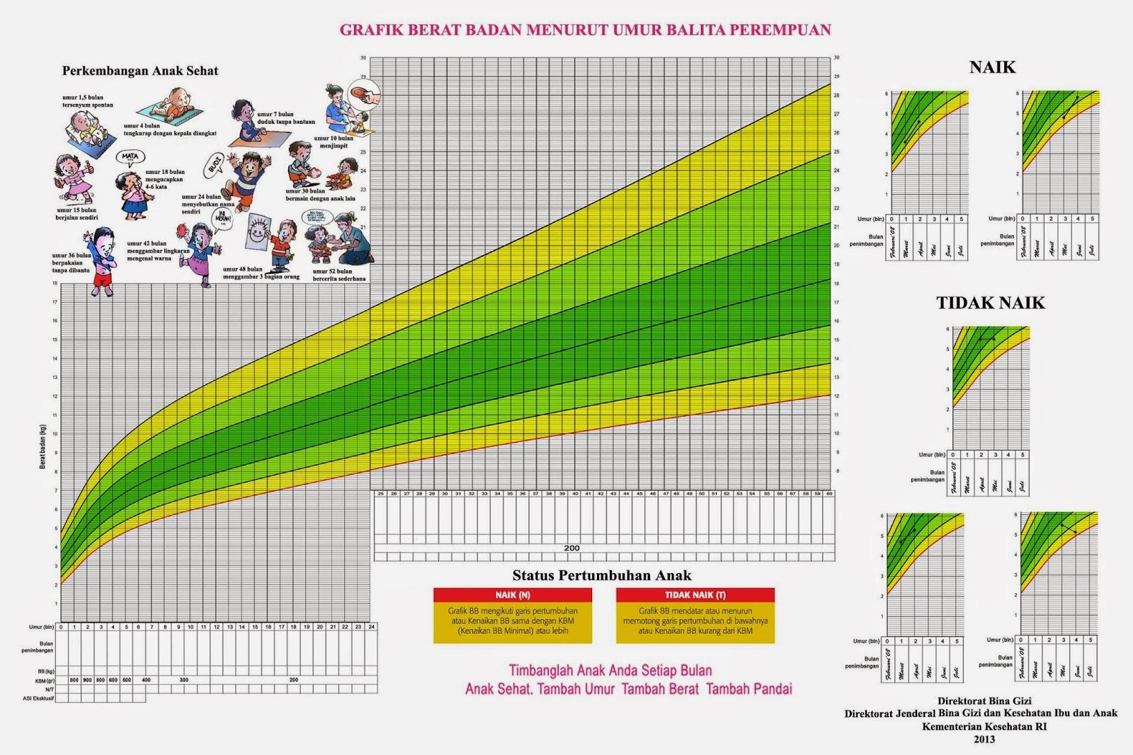 Apakah Berat Badan Balita BGM-KMS adalah Gizi Buruk?