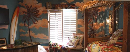 Beach Themed Living Room Decor Furniture For Rooms Decorating Theme Bedrooms - Maries Manor: Tropical ...