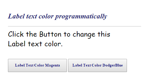 how to change text in html