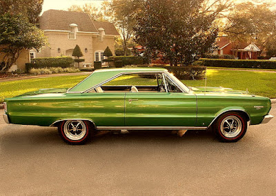 1967 Plymouth GTX 440 Magnum Sports Coupe Side Right