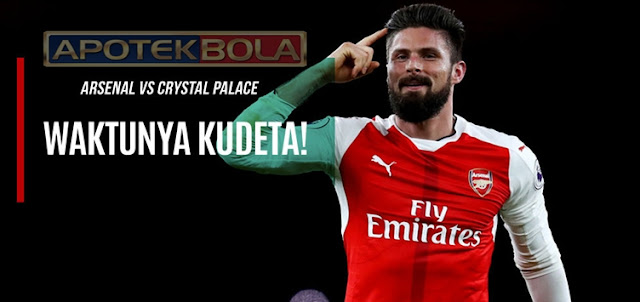 Prediksi Pertandingan Arsenal vs Crystal Palace 1 Januari 2017