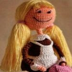 Patron gratis muñeca amigurumi   Free amigurumi pattern doll