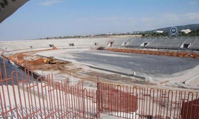 """مليارا ليرة لتنفيذ الأعمال المتبقية في """"المدينة الرياضية بالسويداء"""""""