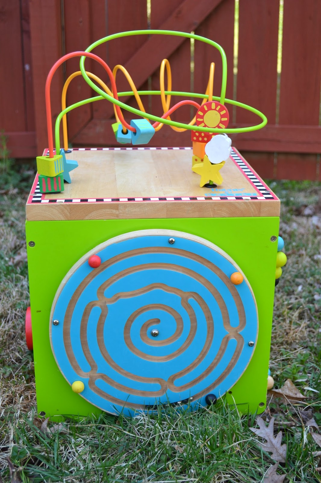 Baby And Kid Stuff For Sale Wooden Roller Coaster Bead Maze Sold