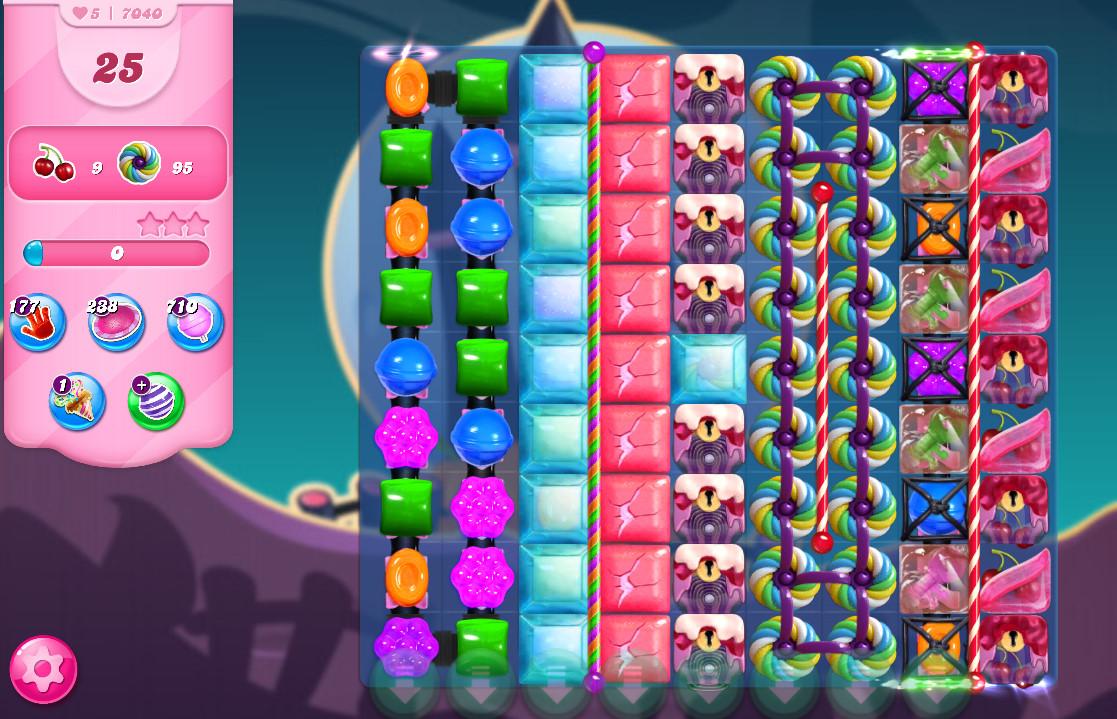 Candy Crush Saga level 7040