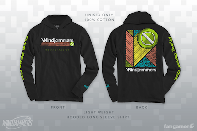 Ma commande Fangamers : Windjammers Battle Sports Hooded Pullover A