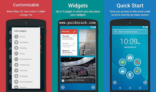 Smart Launcher Pro 3 APK downlaod