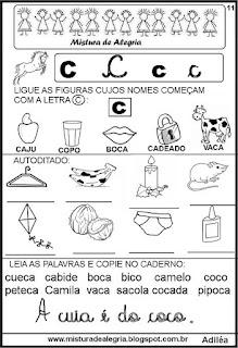 Livro famílias silábicas letra C