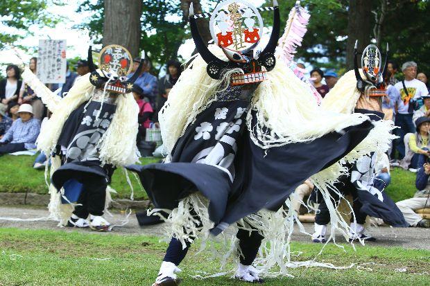 Nippon-no-Furusato Tono Matsuri, Tonogo Hachiman-gu Shrine and others, Tono, Iwate