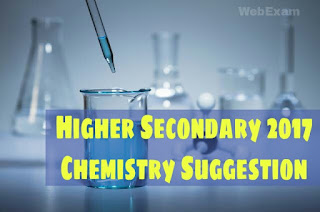 Higher Secondary 2018 Chemistry Suggestion Download with Important Questions 1