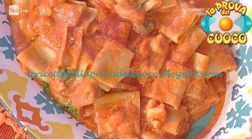 Paccheri dei ciabattini ricetta Moroni da Prova del Cuoco