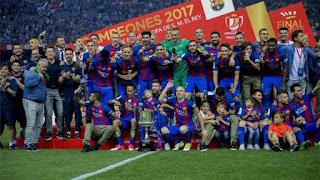 FÚTBOL - Copa del Rey 2016-2017: El FC Barcelona ya cuenta con su 29ª Copa