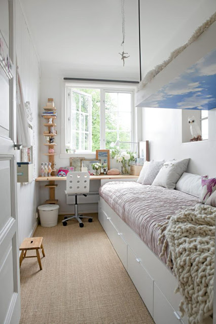 Fotos De Dormitorios Pequenos Para Jovenes Dormitorios Con Estilo - Dormitorio-juvenil-pequeo