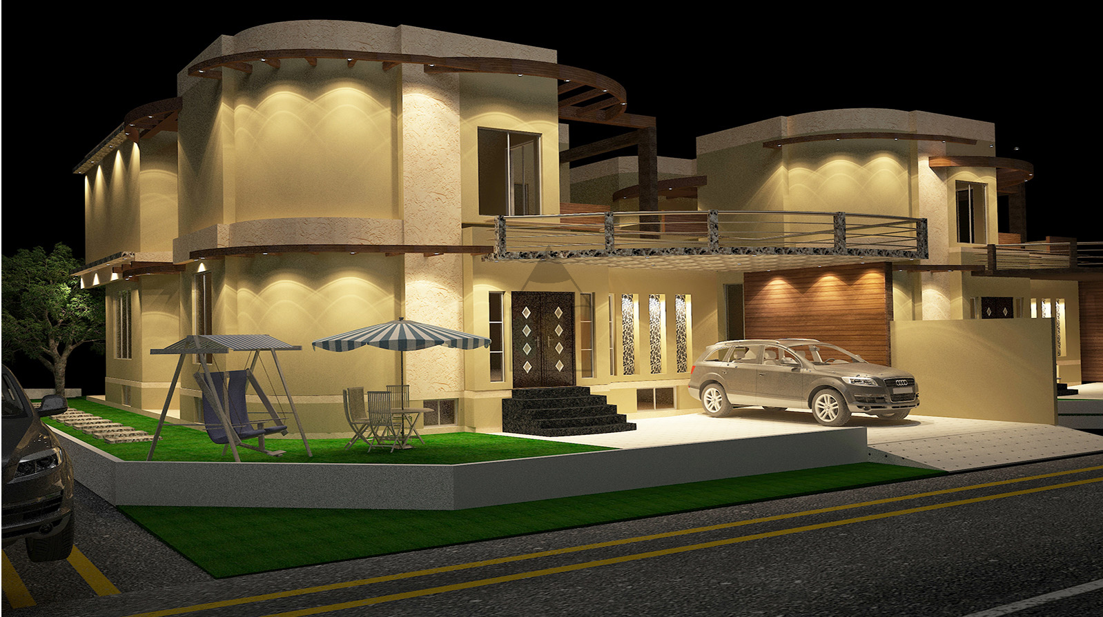Top 07 wonderful house plans in pakistan for Kothi design pictures