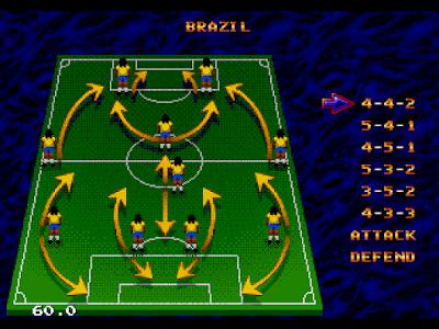 【MD】世界足球錦標賽2,Sega經典運動遊戲!