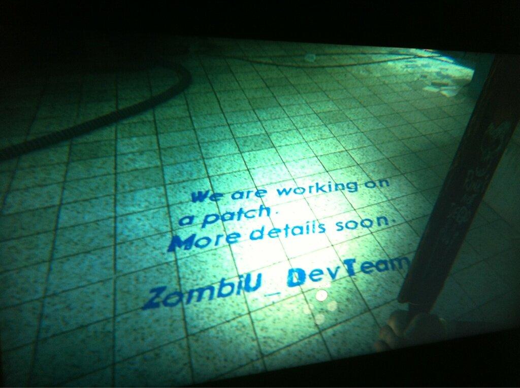 Parche para ZombiU en camino