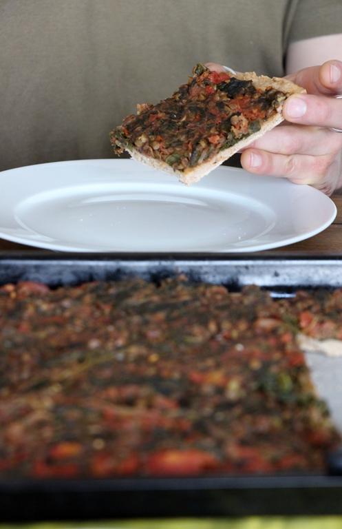 Grünkohl Pizza