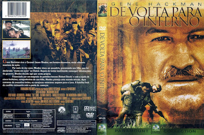 Filme De Volta Para O Inferno (1983) (Uncommon Valor) DVD Capa
