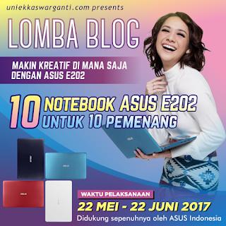 Makin Produktif dan Kreatif sama Si Mungil Notebook Asus E202