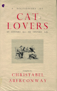 A Dictionary of Cat Lovers (1968) - Christabel Aberconway