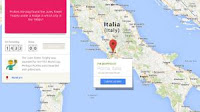 Indovina la città nel gioco di geografia di Google Maps