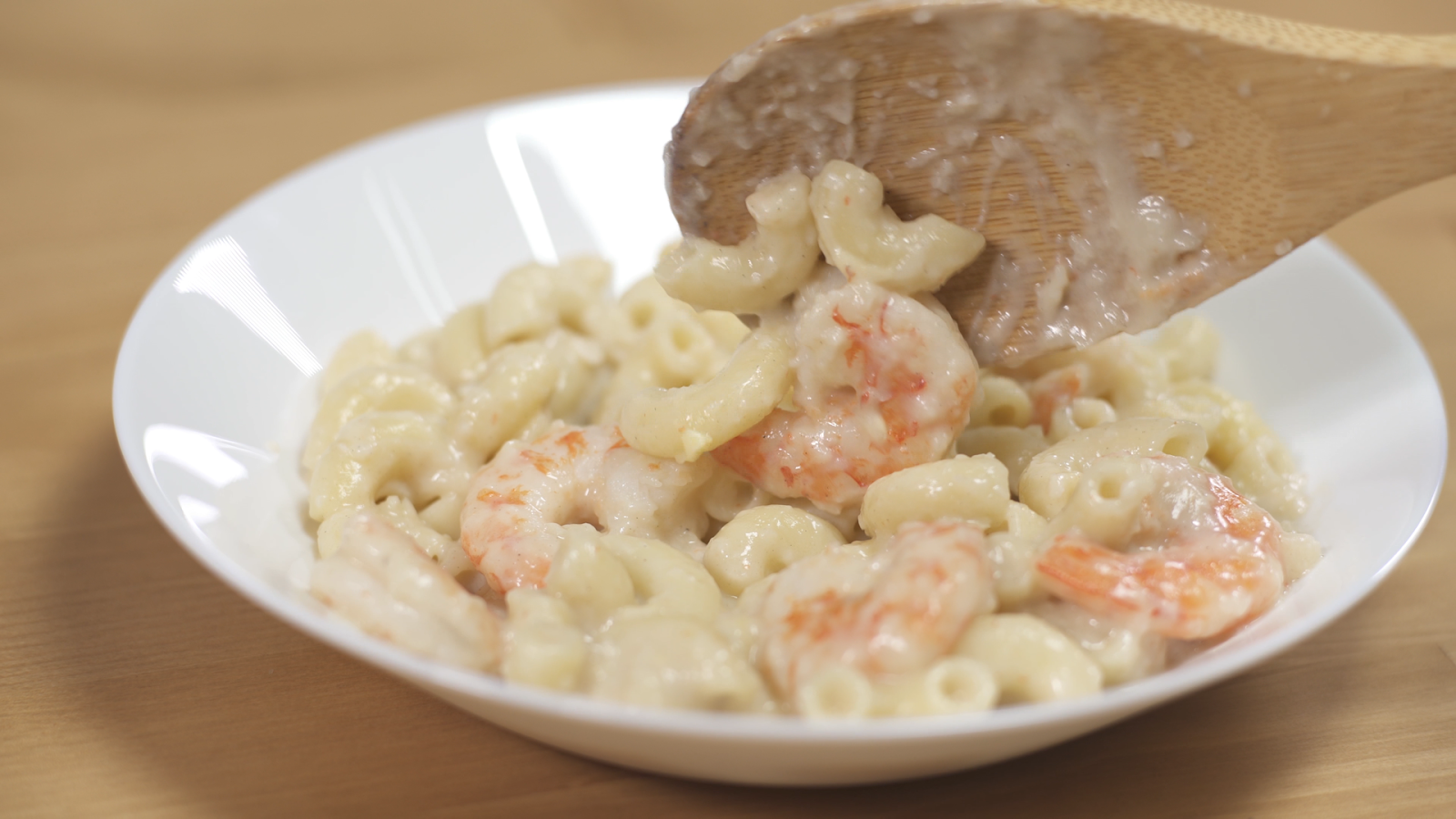 Pasta Makanan Laut Berkrim Hidangan Berkhasiat Kegemaran Anak Anak