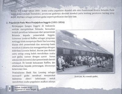 Tapak Tilas Sejarah Pegadaian Indonesia
