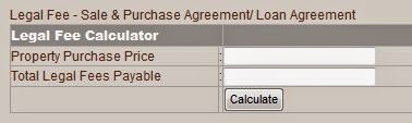Home Loan Calculator, Legal Fee, Stamp Duty Sale & Stamp Duty Loan